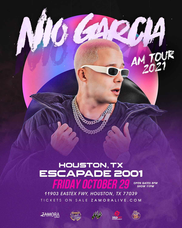 Nio Garcia en Houston