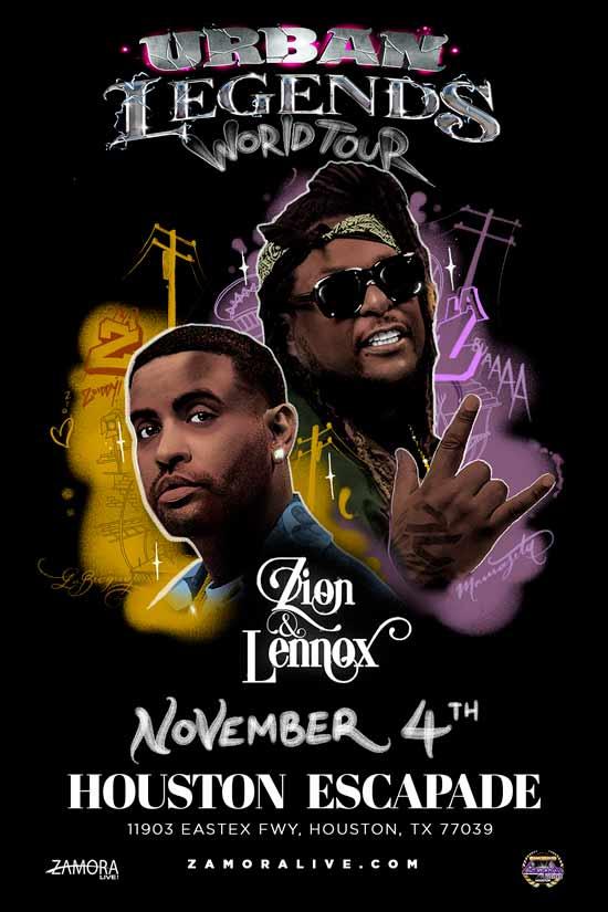 Zion & Lennox en Houston